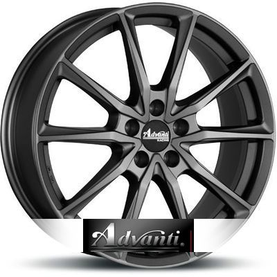Advanti Racing Centurio Dark 8.5x19 ET40 5x114.3 72